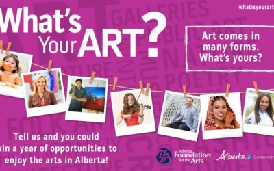 Filming Alberta Foundation for the Arts TV Commercial