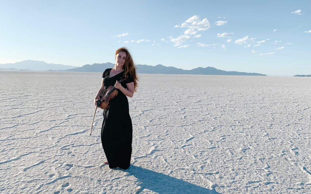Music Video Shoot at the Bonneville Salt Flats!