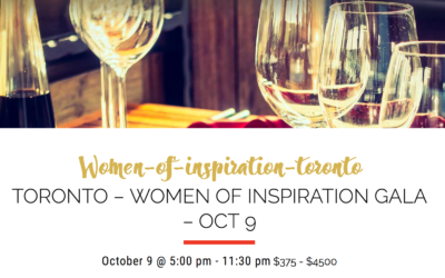 Special performance at Women of Inspiration Toronto – October 9th