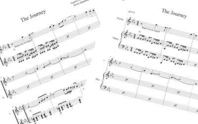 NEW! Sheet Music Available