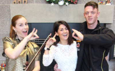 Sophie's Christmas Visit to Ronald MacDonald House with Jillian Harris and Ryan Verra